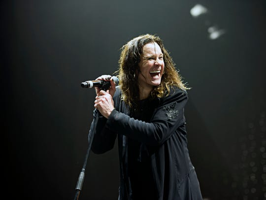Ozzy Osbourne performs on Black Sabbath's The End Tour