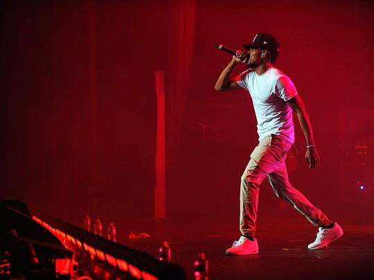 Chicago's Chance the Rapper performs Sunday night at the Fox Theatre.