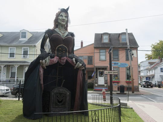 Downtown Mount Holly hosts the Witches Ball on Saturday.