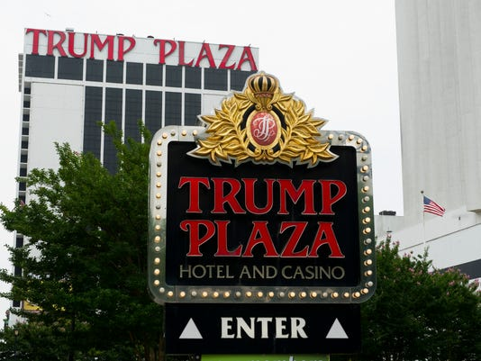 The Trump Plaza Hotel and Casino, which closed in Sept. 2014, in Atlantic City, N.J.