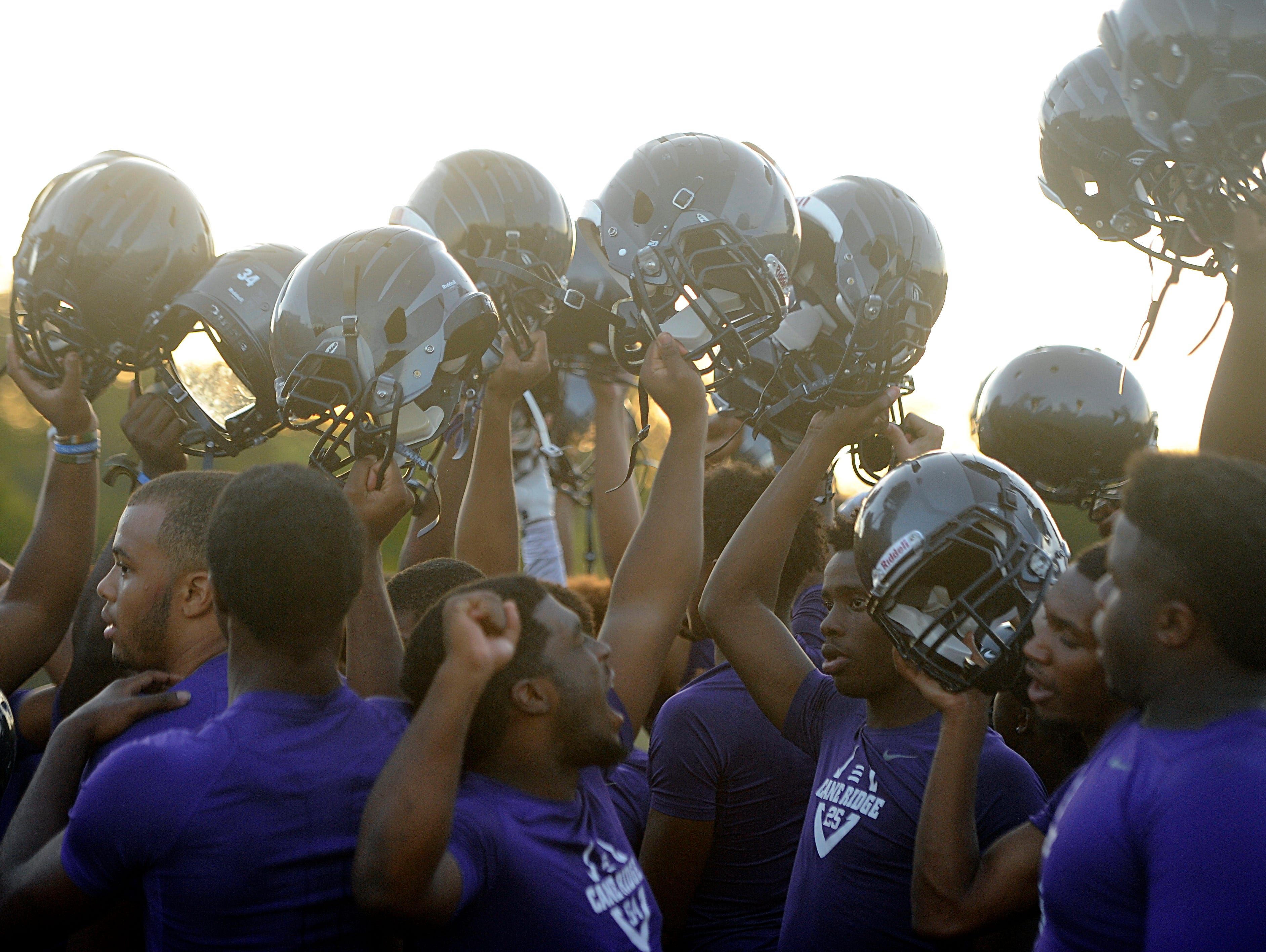 The Cane Ridge football squad can set the school record for single-season victories with a win on Friday against Station Camp.