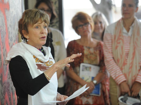 Jane Rozanski appeared at a celebration for the expansion of an adult day center in 2014. The District Attorney in December decided not to pursue criminal charges in a case involving legal billings.
