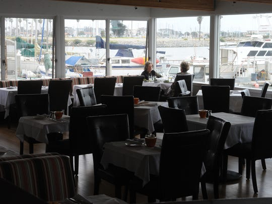 Located on the water in Ventura, the Rhumb Line restaurant will serve Thanksgiving dinner from 11 a.m. to 10 p.m. Nov. 24.
