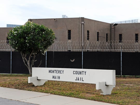 An exterior shot of the Monterey County Jail in Salinas,