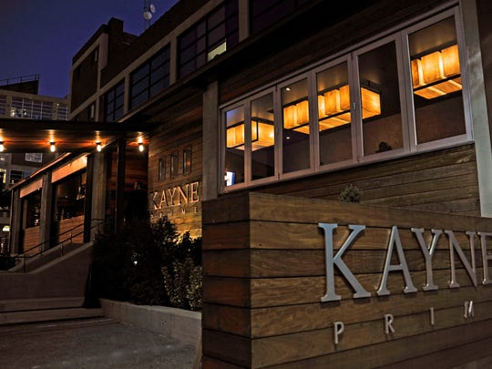 Kayne Prime steakhouse in Nashville's trendy M Street area, a favorite of Lt. Gov. Ron Ramsey — as long as someone else is buying
