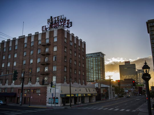 The El Cortez Hotel in Reno, Nev.