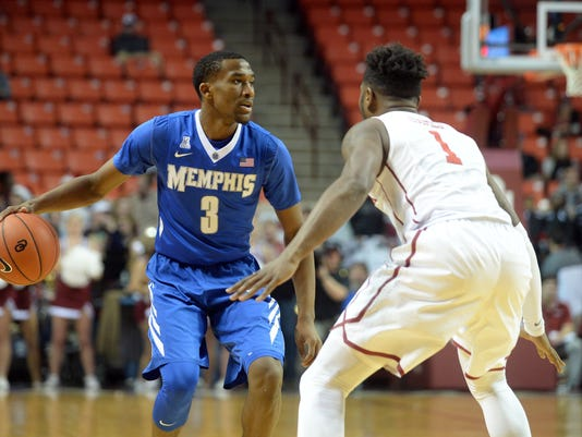 NCAA Basketball: Memphis at Oklahoma
