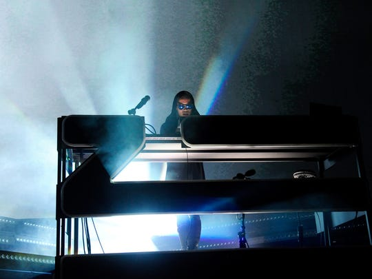 Zhu performs during day 1 of the 2016 Life Is Beautiful