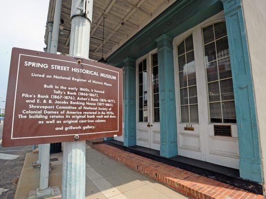 The Spring Street Historical Museum, located in downtown
