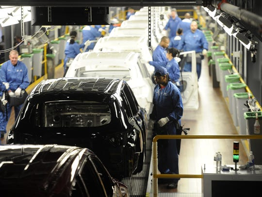 Nissan's Smyrna facility, the highest volume assembly