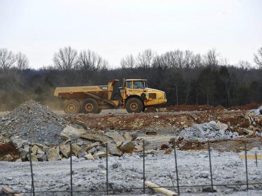 Nolensville HS construction