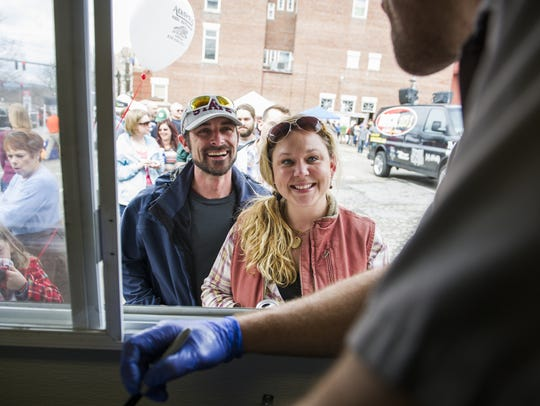 In 2018, food trucks will find a new space for selling across from the U.S. Cellular Center.