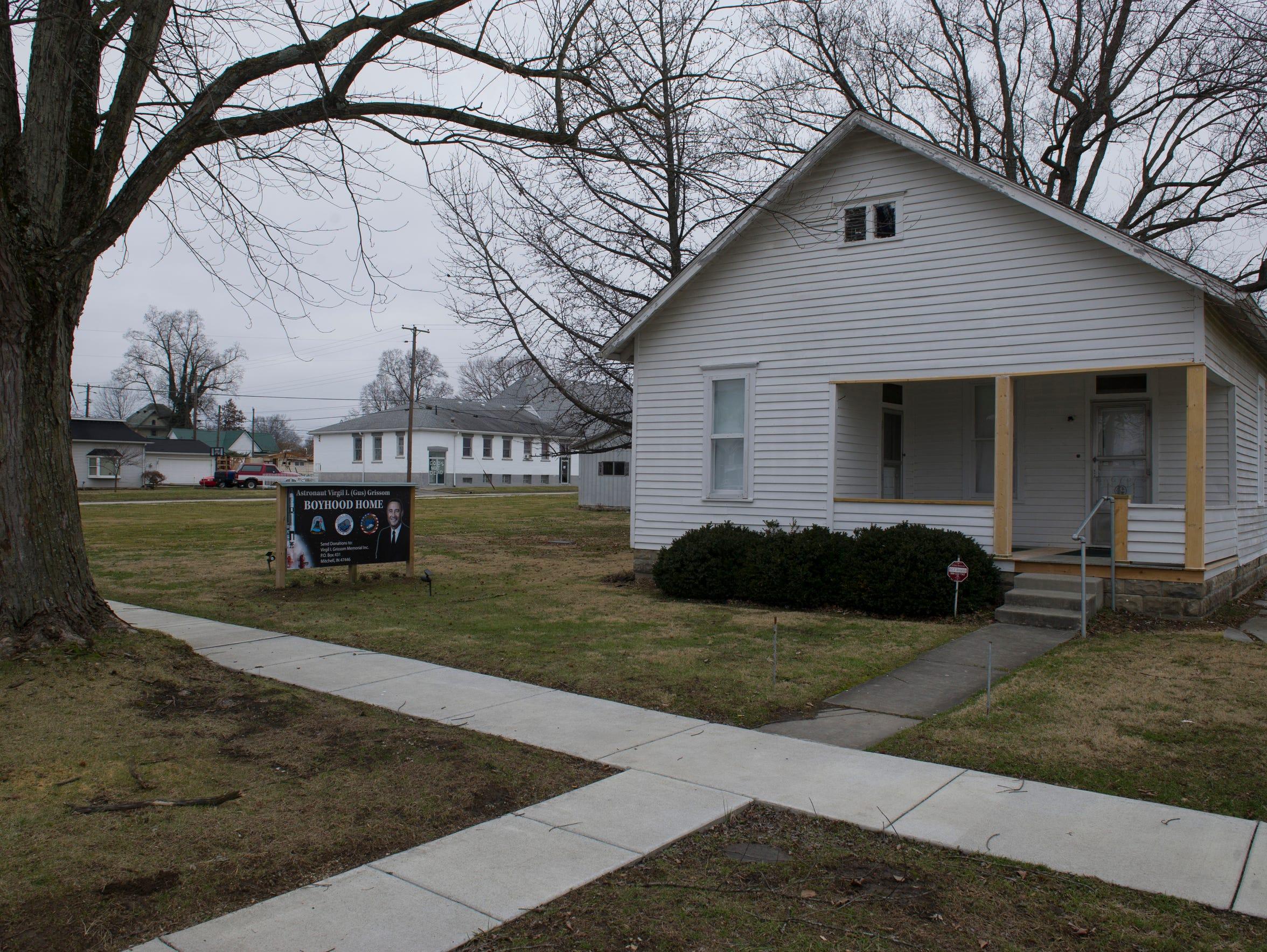 "The Virgil I. ""Gus"" Grissom Boyhood Home at 715 Grissom"