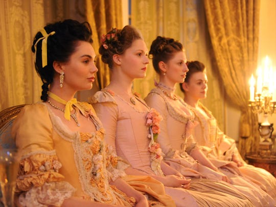 'Harlots' debuts on Hulu Wednesday.