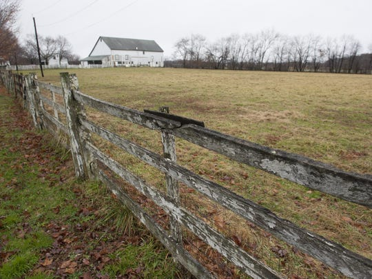 The Hogan Farm on Route 541 in Westampton that Virtua has bought for a proposed new hospital complex to replace its longtime hospital in Mount Holly.