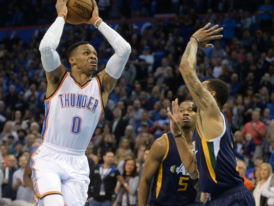 NBA: Utah Jazz at Oklahoma City Thunder