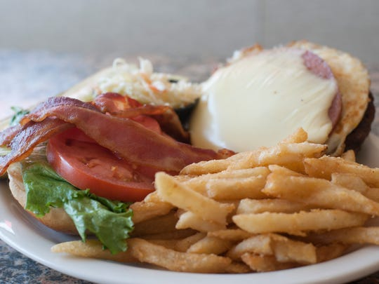 Westmont Burger dish is shown at the Crystal Lake Diner in Haddon Township.