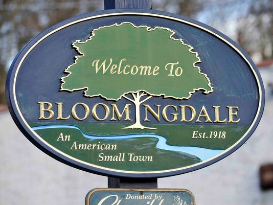Bloomingdale welcome sign
