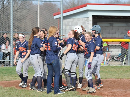 The Galion girls are off to a 3-0 start this season and are doing so in impressive fashion averaging 10 runs a game.