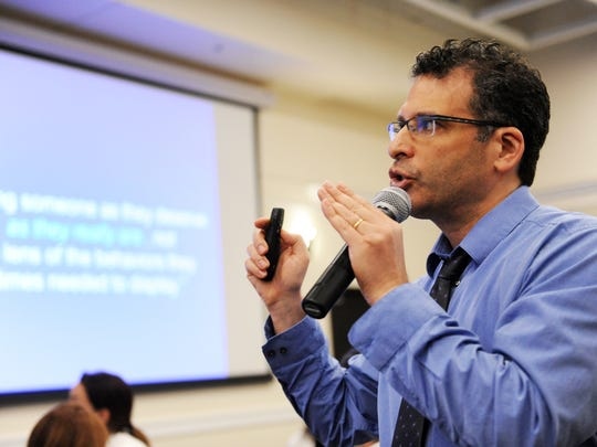 At the workshop on Monday, Dr. Ken Ginsburg spoke about building trust with youth through mutual respect.