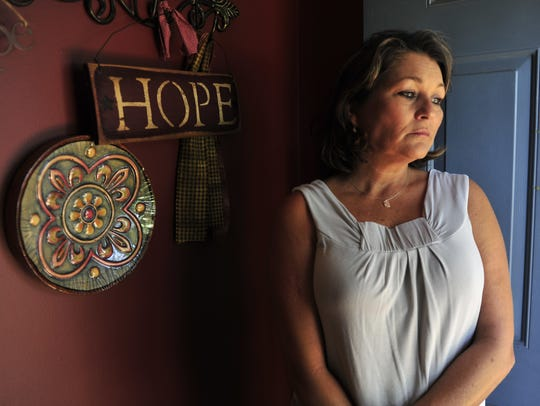 Mother of missing girl Bethany Markowski, Jonnie Carter,