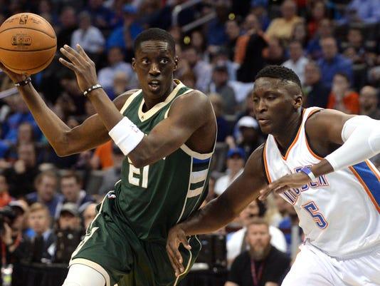 NBA: Milwaukee Bucks at Oklahoma City Thunder