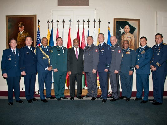 International Air Chiefs inducted into Honor Roll
