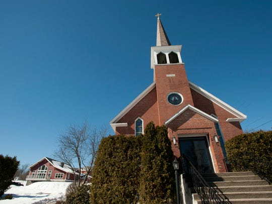 Holy Family Catholic Church in Essex Junction is among