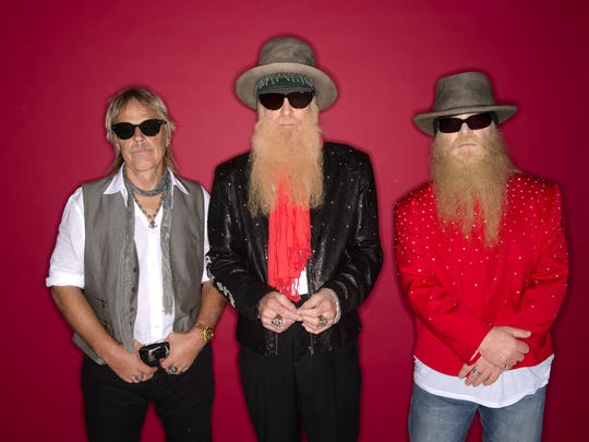 "ZZ Top has been playing together for more than 40 years and isn't slowing down, as the guys are on their ""Tonnage Tour."" The tour will stop May 13 at Memorial Auditorium."