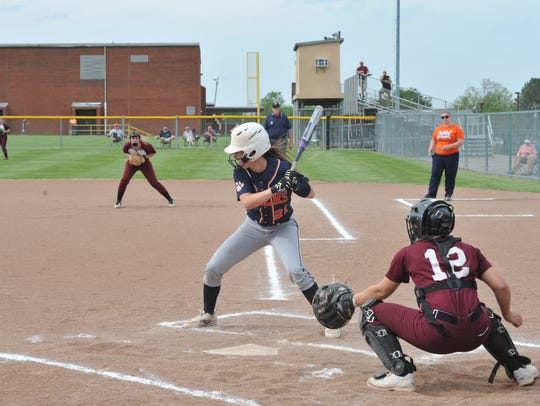 Gabby Kaple boasted a batting average over .500 and
