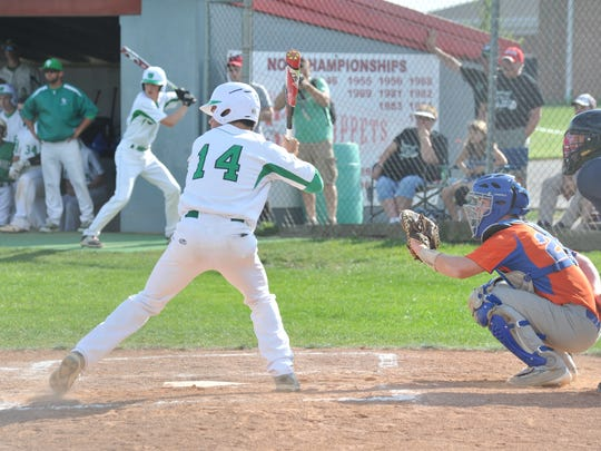 Thomas Staab, in his first game back with the Colts in over a month, went 4-of-5 and drove in two RBIs.