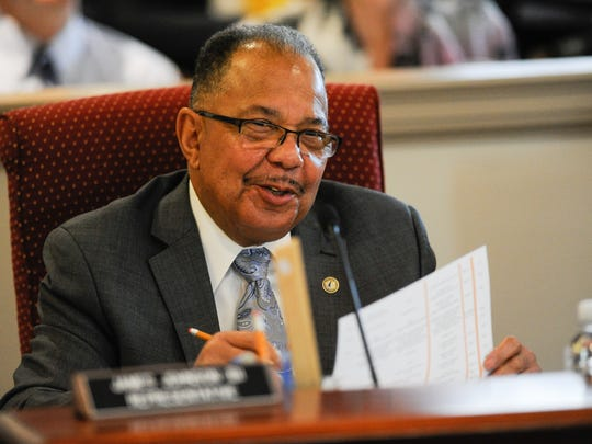 Rep. James Johnson, D-New Castle, has sponsored a bill to dramatically reduce the use of cash bail.