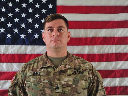 Sgt. William M. Bays, 29, of Barstow, California