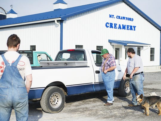 Mt Crawford Creamery on Wednesday, April 10, 2013