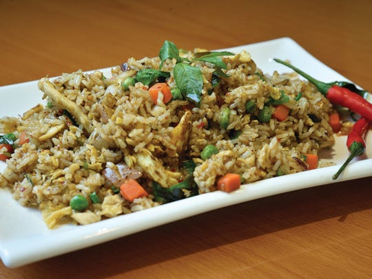 Thai basil fried rice with chicken from iFish in Tenafly