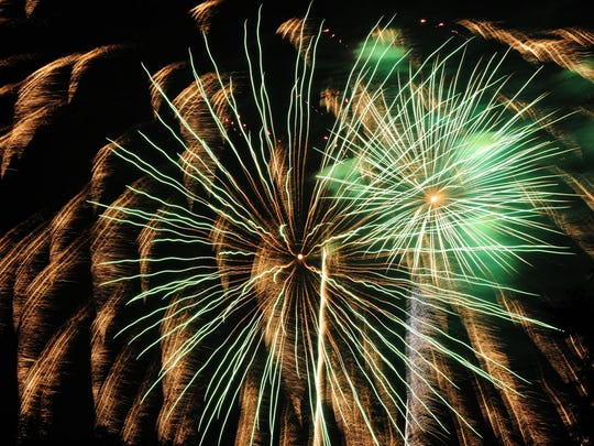 The threat of rain held off as the Canton Liberty Fest closed with the popular fireworks display Saturday evening.