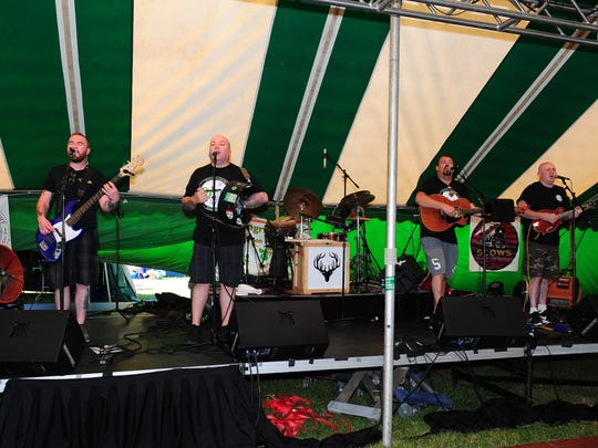 Direct from County Kildare, Ireland, the Druids are a popular rebel/ballad band who will entertain the crowds at the 10th Motor City Irish Fest.