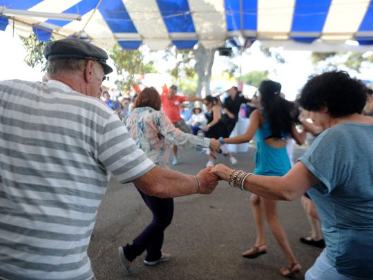 The Ventura County Greek Festival at the Camarillo Airport includes music performances, dancing, kids activities and food.