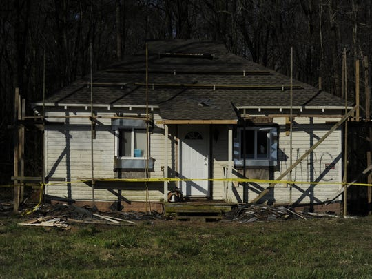 Police have arrested Tonya S. Bundick, 40, of Parksley who has been charged with one felony count of arson and a felony count conspiracy to commit arson after police say she attempted to burn this Melfa house late Monday night, April 1, 2013. Bundick is being held at the Accomack County Jail without bond.
