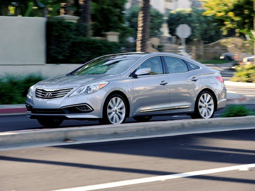The 2017 Hyundai Azera Pictured Here Has A 293 Horse