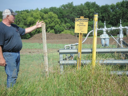 Mike Grace of Hartford talks about the farm tap that