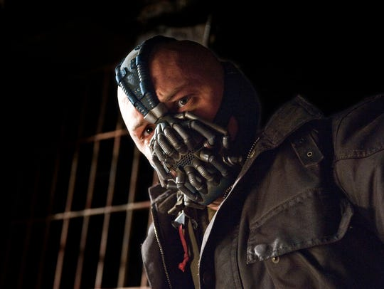 Tom Hardy as Bane in 'Dark Knight Rises.'