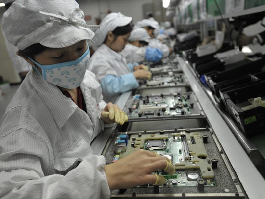 Foxconn announced Wednesday that it plans to locate a plant in Wisconsin.