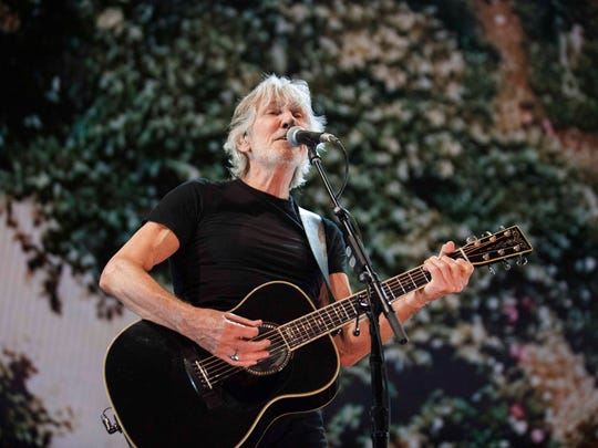 Roger Waters performs 'Deja Vu', one of the songs from his new album 'Is This the Life We Really Want?'.