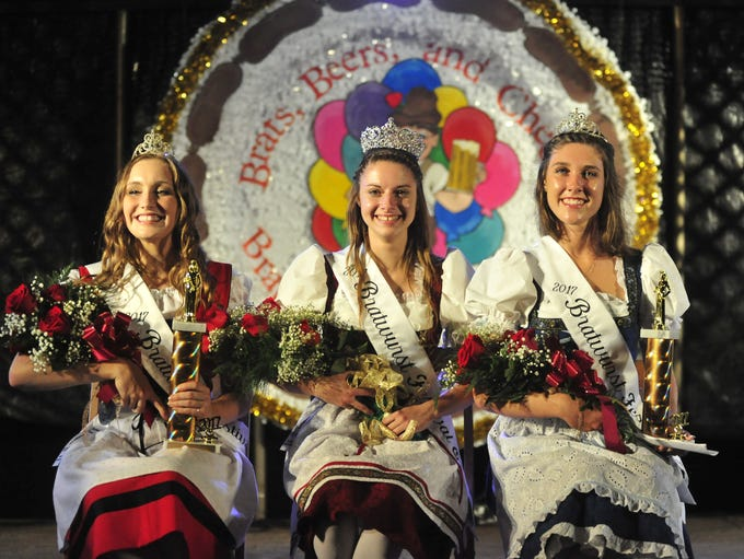 The court for the 2017 Bucyrus Bratwurst Festival is,