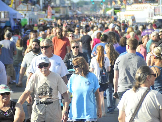Thousands of people visited the 2017 edition of the Bucyrus Bratwurst Festival.