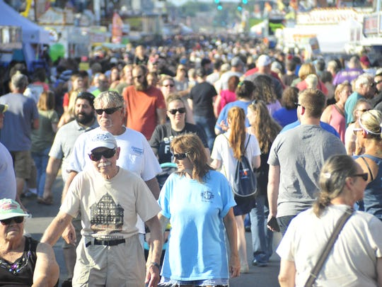 Thousands of people visited the Bucyrus Bratwurst Festival