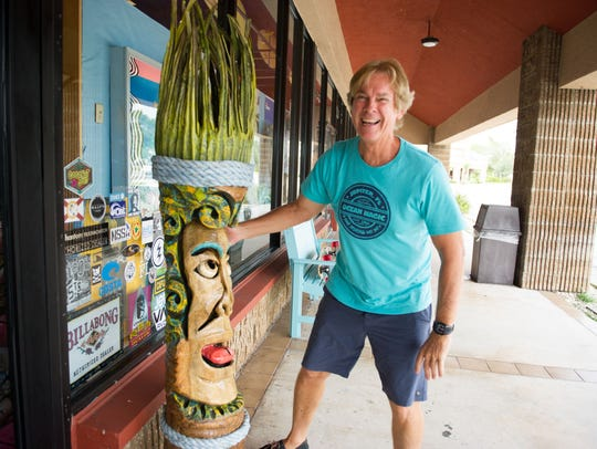 Back in the day, Ocean Magic Surf Shop was one of only