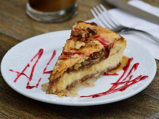 Baklava Cheesecake.