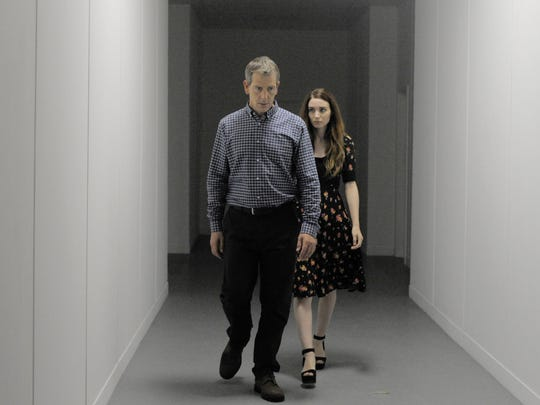 "Ray (Ben Mendelsohn) and Una (Rooney Mara) are reunited in ""Una."""